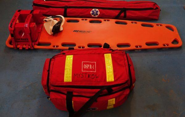 Zestaw PSP R1: torba, deska, szyny Kramera