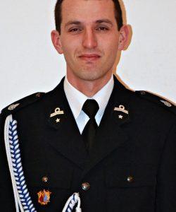 dh Piotr Jawor, Naczelnik OSP w Mystkowie