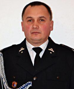 dh Zbigniew Hebda, Prezes Zarządu OSP w Mystkowie