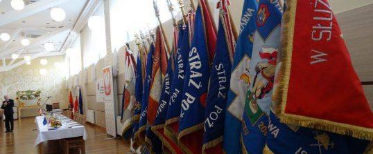 Udział druhów z OSP w Mystkowie w IV Powiatowym Zjeździe ZOSP RP w Nowym Sączu