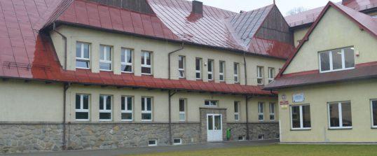 Próbna ewakuacja w szkole w Kamionce Wielkiej.