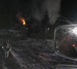 Boguszowa – 1.12.2018 – Pożar budynku